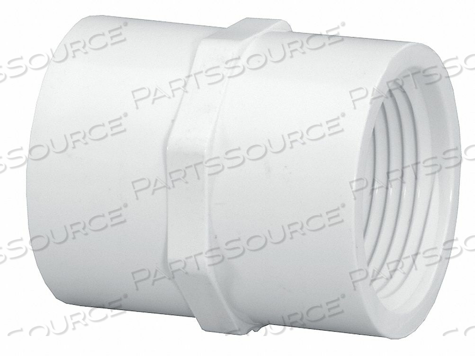 COUPLING PVC 40 1 X 3/4 IN. FPT X FPT by Lasco