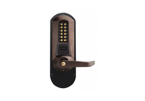 ELECTRONIC LOCKS 5000 ANTIQUE BRASS by Kaba