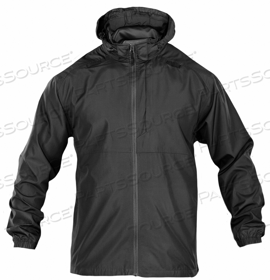 PACKABLE OPERATOR JACKET 2XL BLACK by 5.11 Tactical