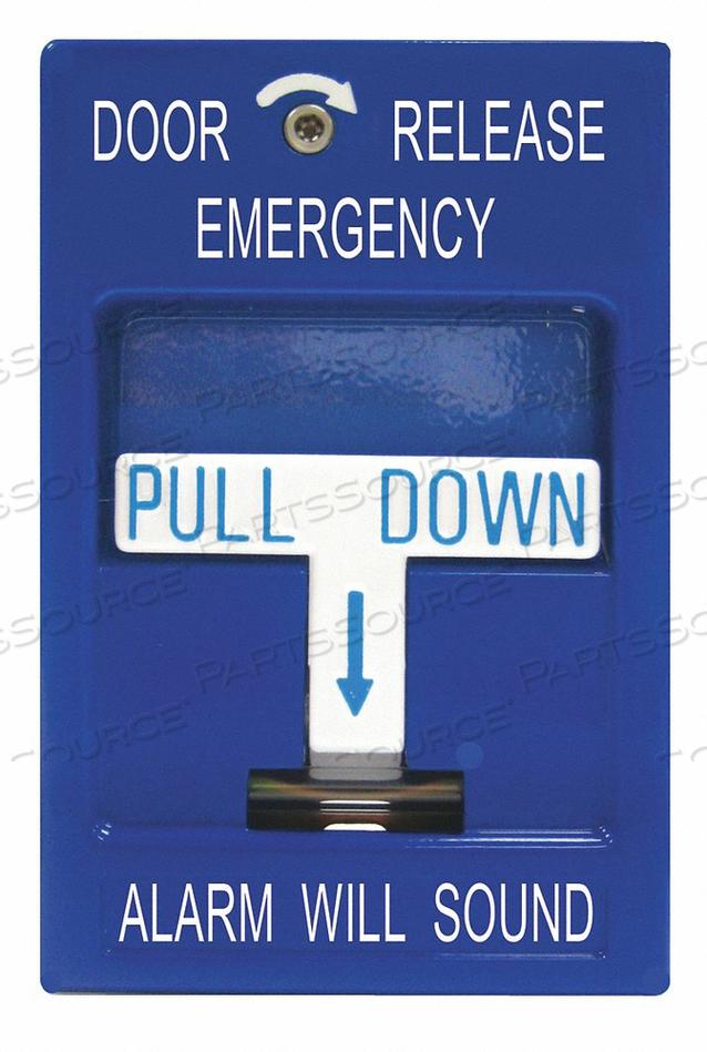 EMERGENCY DOOR RELEASE 3-1/4 IN W by SDC