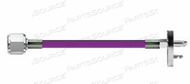 CONDUCTIVE HOSE ASSEMBLY, WAGD, 1/4 IN OD, PURPLE, DISS HEX NUT X MALE CONNECTION, 15 FT by Amvex (Ohio Medical, LLC)