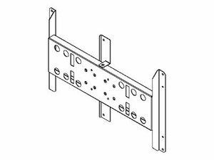 PEERLESS PLP NEC61 - MOUNTING COMPONENT ( ADAPTER PLATE ) FOR PLASMA PANEL - BLACK by Peerless Industries, Inc.