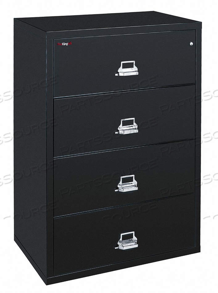 LATERAL FILE 4 DRAWER 44-1/2 IN W by Fire King