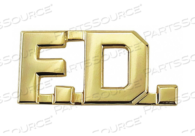 METAL RANK INSIGNIA F.D. GOLD PR by Heros Pride