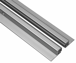 DOOR FRAME WEATHERSTRIP 8 FT GRAY by National Guard Products