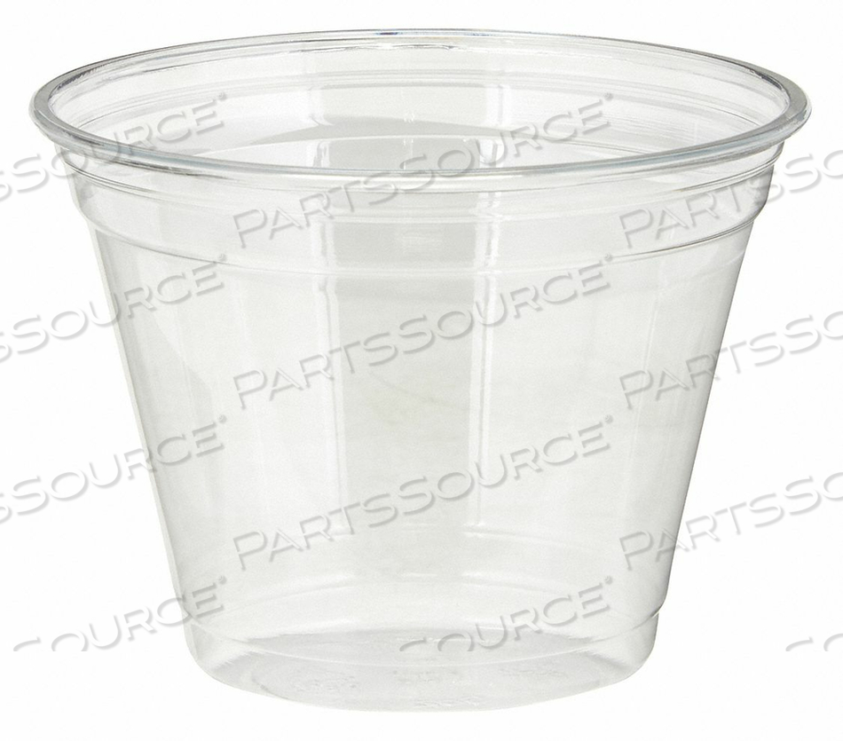 DISPOSABLE COLD CUP PLASTIC 9 OZ. PK1000 by Dixie