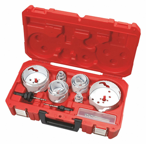 HOLE DOZER HOLE SAW KIT 1-5/8 IN 19 PC by Milwaukee Electric Tools