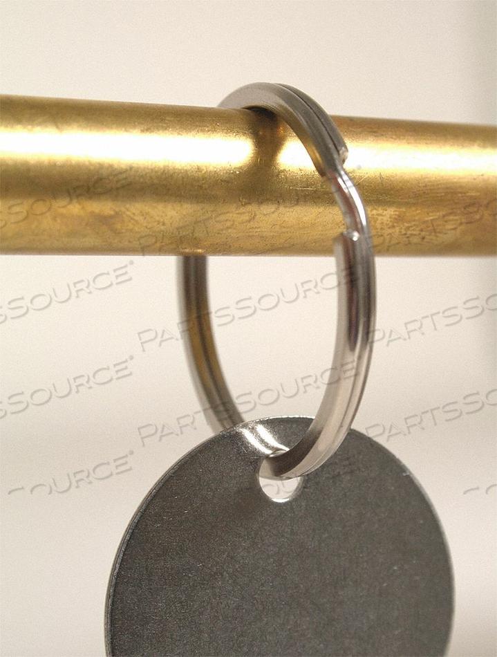 1-1/4 SPLIT KEY RING 100/BAG by C.H. Hanson