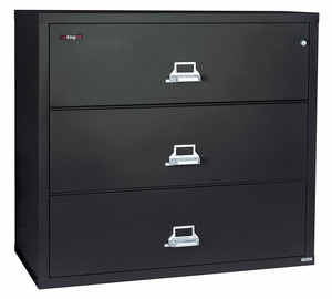 LATERAL FILE 3 DRAWER 44-1/2 IN W by Fire King