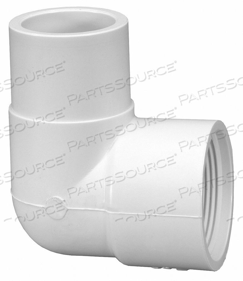 STREET ELBOW PVC 40 3/4 IN. SPIGOT X FPT by Lasco