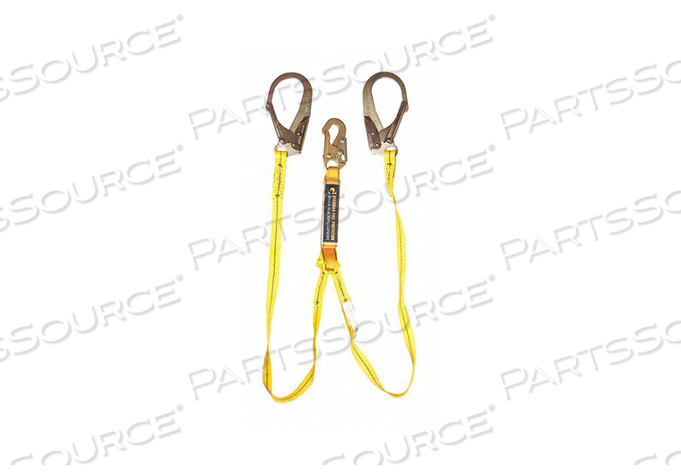6 SHOCK ABSORBING LANYARDS by Guardian Fall Protection