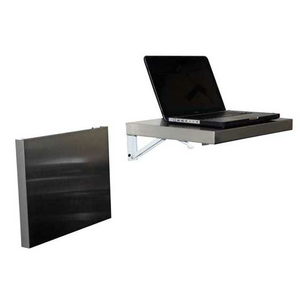 """FOLDING SHELF, SS, WALL MOUNTED, 17""""WIDE X 14"""" DEEP by Ideal Products"""