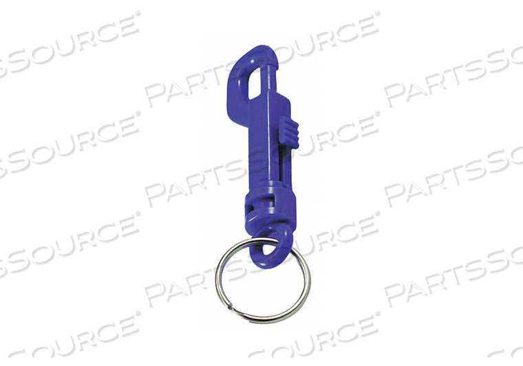 PLASTIC KEY CLIP PLASTIC BLUE PK25 by Lucky Line Products