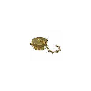 FIRE HOSE HOSE PLUG - 1-1/2 IN. NH - BRASS by Moon American