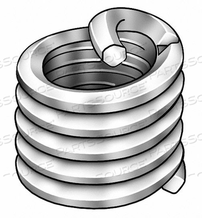 HELICAL INSERT SS M4X0.74MM PK1000 by Heli-Coil