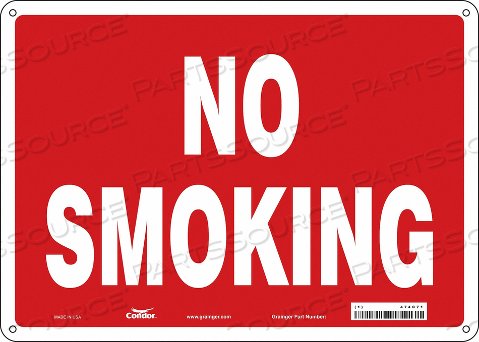 J7013 SAFETY SIGN 14 W 10 H 0.060 THICKNESS by Condor