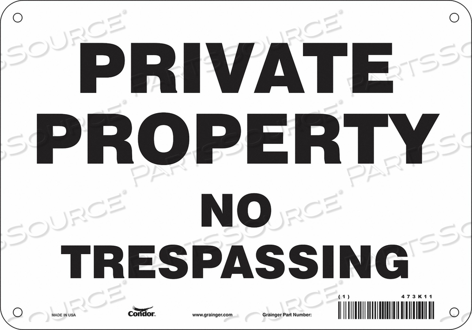 J7022 SAFETY SIGN 10 W 7 H 0.060 THICKNESS by Condor