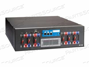 """POWERWARE RACK POWER MODULE RPM-3U - POWER DISTRIBUTION UNIT ( RACK-MOUNTABLE ) - AC 208 V - 3-PHASE - RS-232 - OUTPUT CONNECTORS: 9 - 3U - 19"""""""