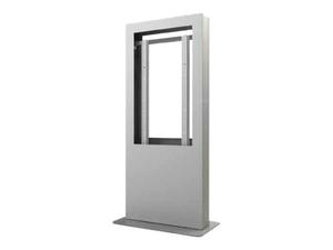 "PEERLESS PORTRAIT BACK-TO-BACK KIOSK ENCLOSURE KIP542B - STAND FOR LCD DISPLAY - GLOSS BLACK POWDER COAT - SCREEN SIZE: 42"" - FLOOR-STANDING by Peerless Industries, Inc."