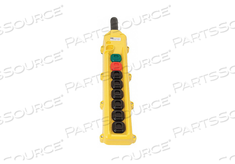 PENDANT STATION 8 PUSH BUTTON NO NC by KH Industries