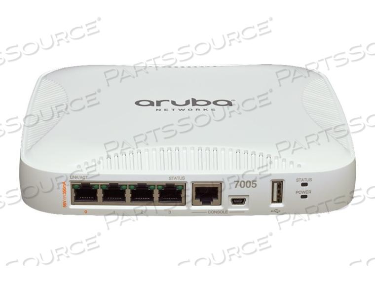 HPE ARUBA 7005 (JP) CONTROLLER - NETWORK MANAGEMENT DEVICE - GIGE - DC POWER by HP (Hewlett-Packard)