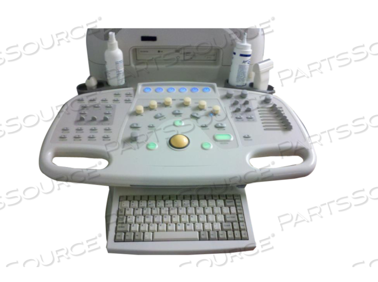 USER INTERFACE WITH BLACK TRACKBALL