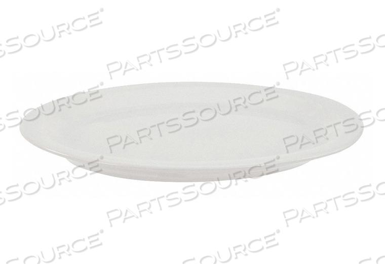 PLATTER 13-1/2X10-5/8 IN ALP WHT PK12 by Crestware