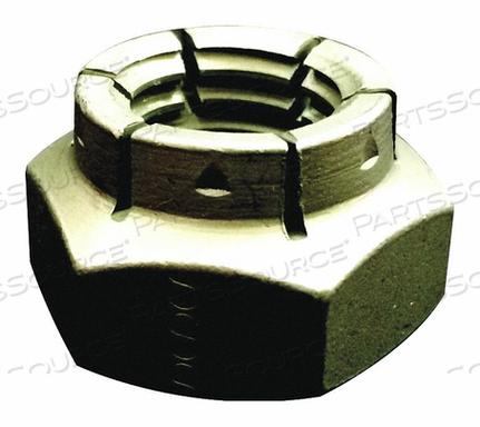 FABORY U12348.043.0001 Lock Nut,7//16-14,Gr 5,Steel,ZP,PK25