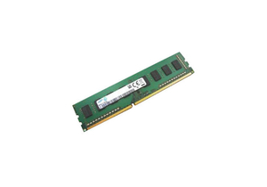 SINGLE CHANNEL 1RX8 RAM, 4 GB, DDR3 SDRAM MEMORY, 240-PINS, PC-12800 BUS, 1600 MHZ DATA TRANSFER RATE, 200 MHZ MEMORY, 1.5 V by Samsung Electronics