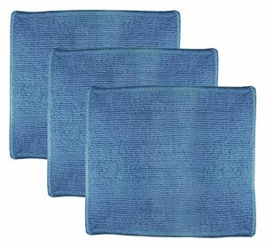 MICROFIBER CLOTH 7 X 6 BLUE PK3 by Ability One