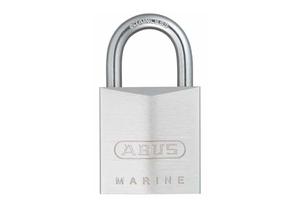 KEYED PADLOCK 5/8 IN RECTANGLE SILVER by Abus