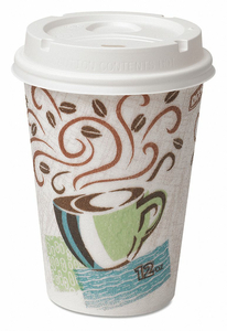 CUP LID 12 OZ. HOT PK50 by Dixie