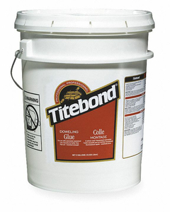 GLUE DOWELING 5 GAL WHITE by Titebond
