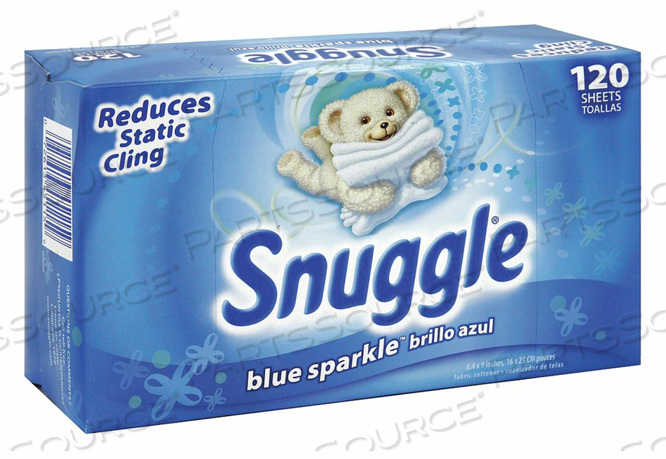 FABRIC SOFTENER DRYER SHEETS PK6 by Snuggle