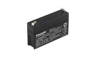 BATTERY, SEALED LEAD ACID, 6V, 1.3 AH, FASTON (F1) by Panasonic / Matsushita Electric Industrial Co, Ltd