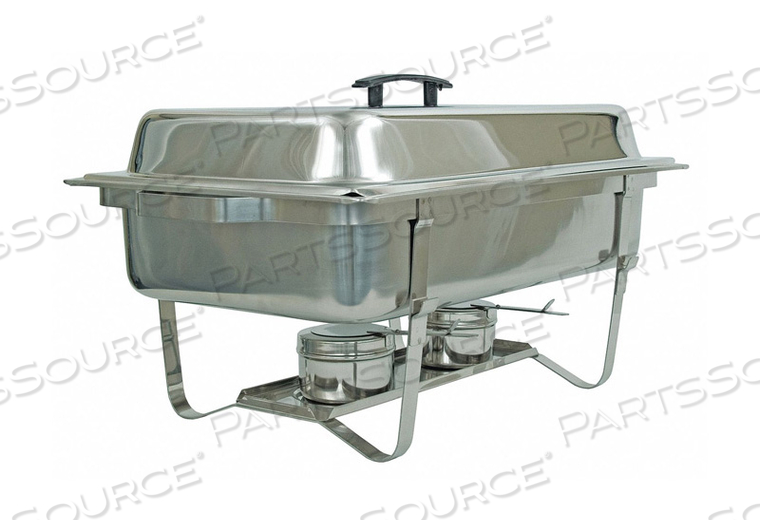 FULL SIZE CHAFER WITH STACKABLE FRAME by Crestware