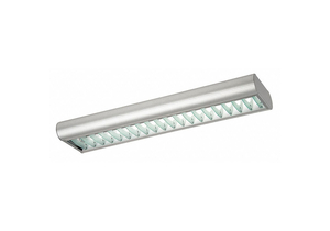 FLUORESCENT FIXTURES WALL MOUNT LOUVER by Lumapro Products