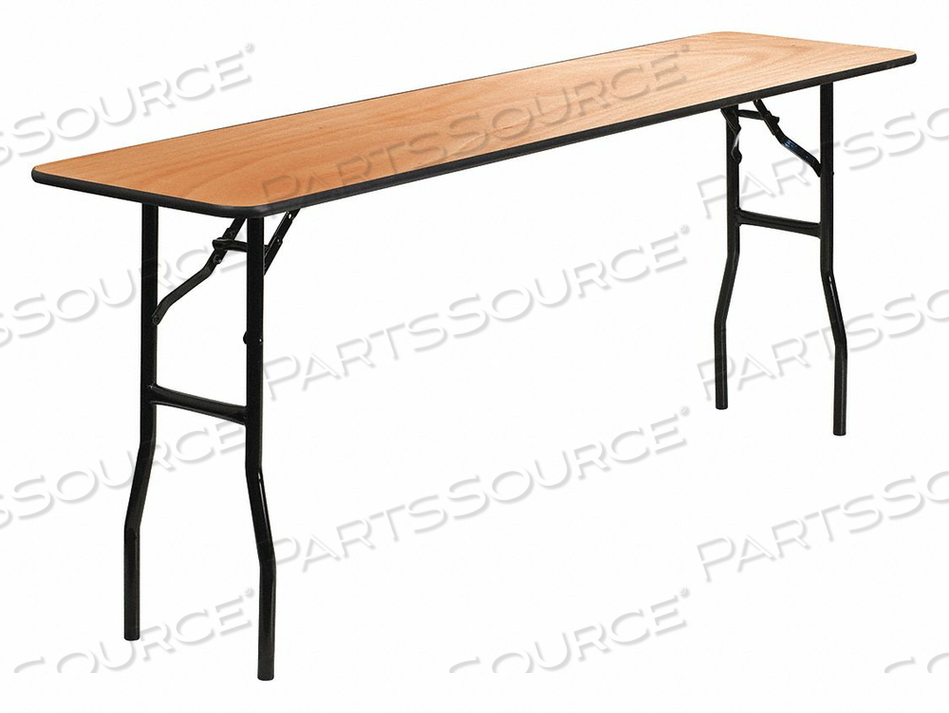 FOLD TRAINING TABLE WOOD 18 X72 by Flash Furniture