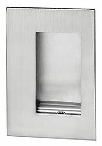 FLUSH DOOR PULL 3-1/2 W X 5 L by Rockwood