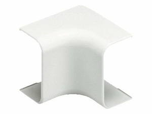 PANDUIT PAN-WAY STANDARD FITTINGS FOR LOW VOLTAGE APPLICATIONS - CABLE RACEWAY INSIDE ELBOW FITTING - OFF WHITE by Panduit
