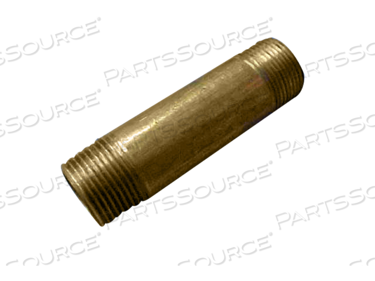 NIPPLE 3/4 X 3-1/2 BRASS by STERIS Corporation