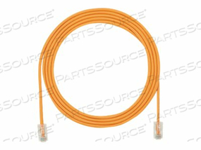 PANDUIT TX5E-28 CATEGORY 5E PERFORMANCE - PATCH CABLE - RJ-45 (M) TO RJ-45 (M) - 7 FT - UTP - CAT 5E - IEEE 802.3AF/IEEE 802.3AT - HALOGEN-FREE, SNAGLESS, STRANDED - ORANGE - (QTY PER PACK: 25) by Panduit
