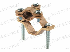 PANDUIT STRUCTURED GROUND MECHANICAL CONNECTORS BRONZE GROUND CLAMP WITH CONDUIT HUB AND SWIVEL - GROUNDING CLAMP KIT by Panduit