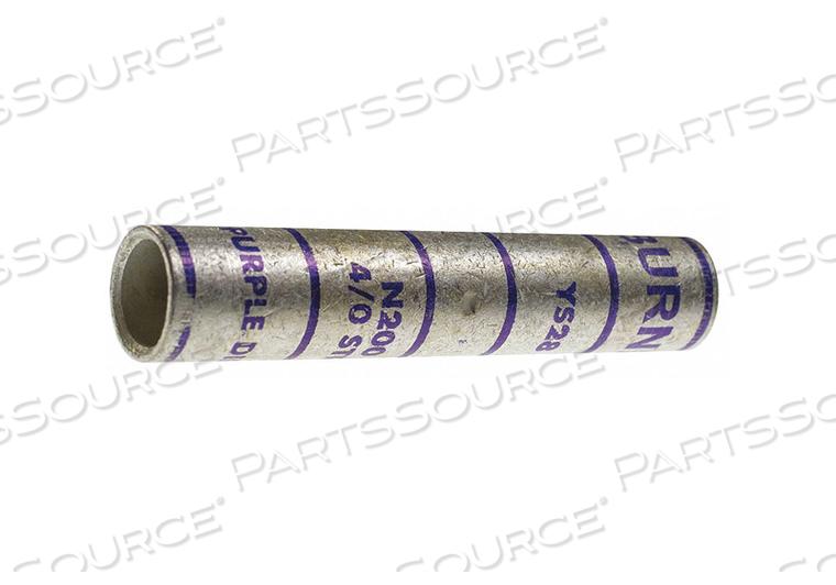 LONG-BARREL SPLICE 4/0 AWG WIRE GAUGE by Burndy