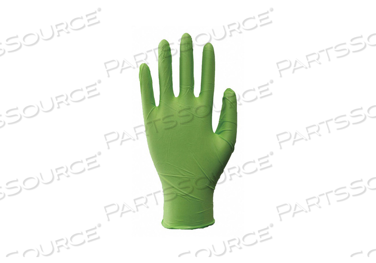 J4955 DISPOSABLE GLOVES NITRILE M PK100 by Condor