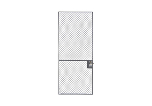 WIRE PARTITION SLIDING DOOR 3 FT X 10 FT by Husky Rack & Wire