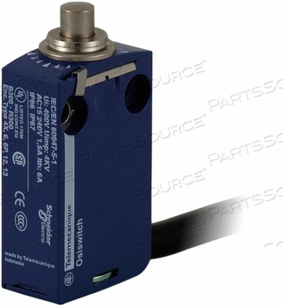 MINIATURE LIMIT SWITCH 2.57 IN H by Telemecanique Sensors