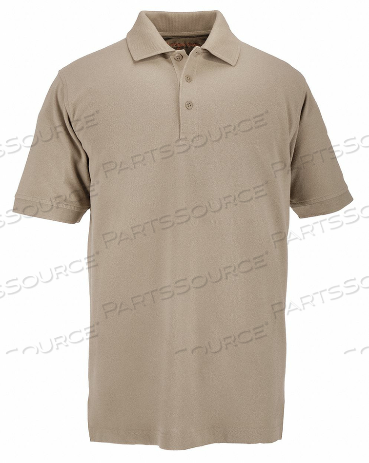 D4693 PROFESSIONAL POLO SILVER TAN XL by 5.11 Tactical