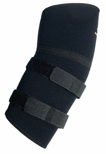 ELBOW SUPPORT PULL ON BLACK L by Impacto