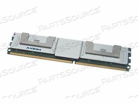 AXIOM AX - DDR2 - 4 GB : 2 X 2 GB - FB-DIMM 240-PIN - 667 MHZ / PC2-5300 - CL5 - FULLY BUFFERED - ECC - FOR IBM SYSTEM X3650, LENOVO BLADECENTER HS21, HS21 XM, SYSTEM X34XX, X35XX, X3650